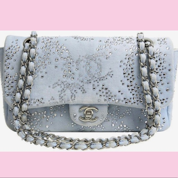 f396d83d550 CHANEL Handbags - Swarovski Crystal Chanel Bag